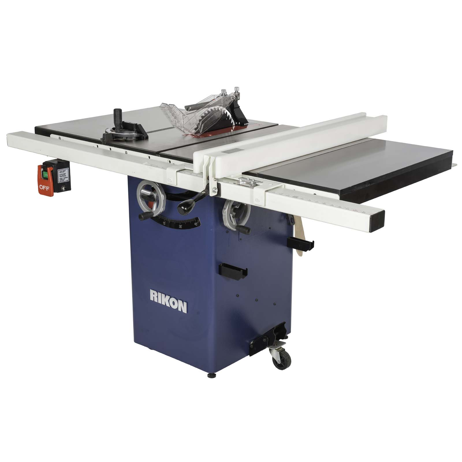 Rikon 10in Deluxe 134in HP Cabinet Saw from BuyMBScom