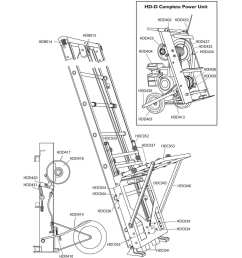 safety hoist hd400 replacement parts 8ft base section [ 1400 x 1400 Pixel ]