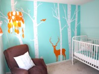 Real Room: Aqua Woodsy Boys Nursery | buymodernbaby