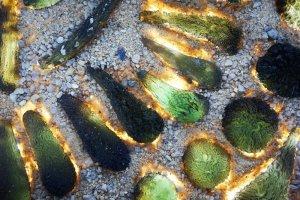 moldavite stone fire real
