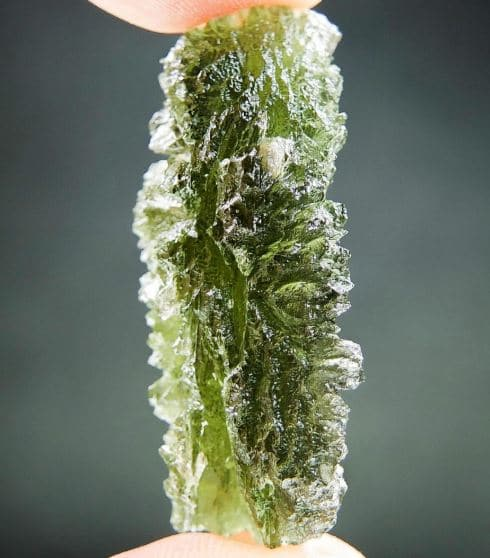 Excellent Moldavite from Besednice - Certified