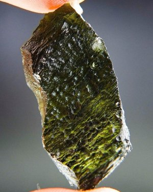 Natural Raw Large Moldavite with Certificate of Authenticity (12.79grams)