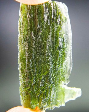 Uncommon Authentic Large Moldavite with Certificate of Authenticity (15.33grams)