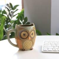 Cute Owl Morning Coffee Ceramic Mug Best Price Review