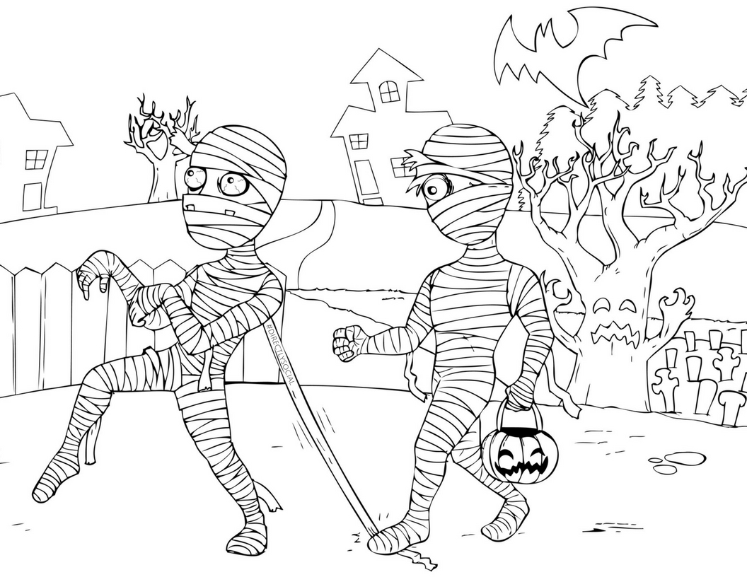 Halloween Coloring Contest for Some Fun Marketing