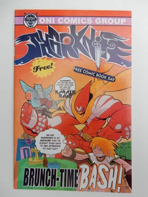 Sharknife/Hysteria Flip Book Oni Promo
