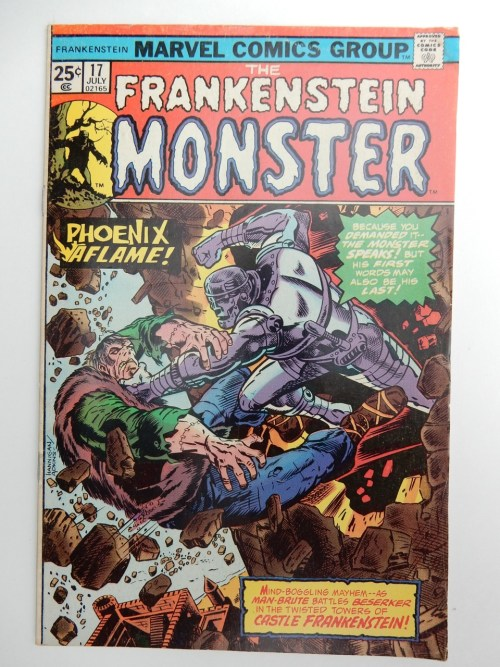 The Frankenstein Monster #17