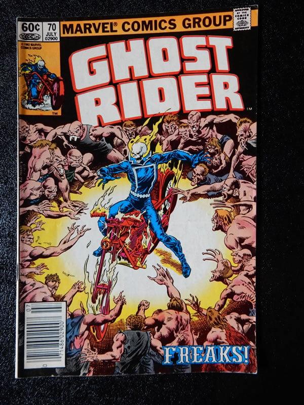 Ghost Rider #70 - Freaks!