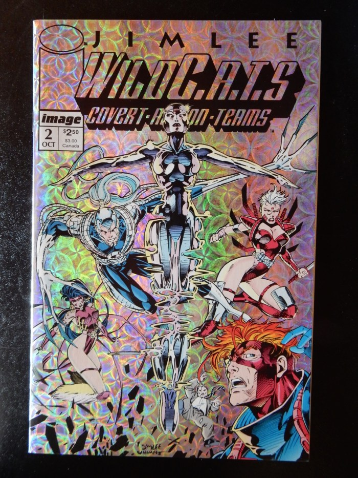 Wildcats #2 - Special Prismatic Cover by Jim Lee