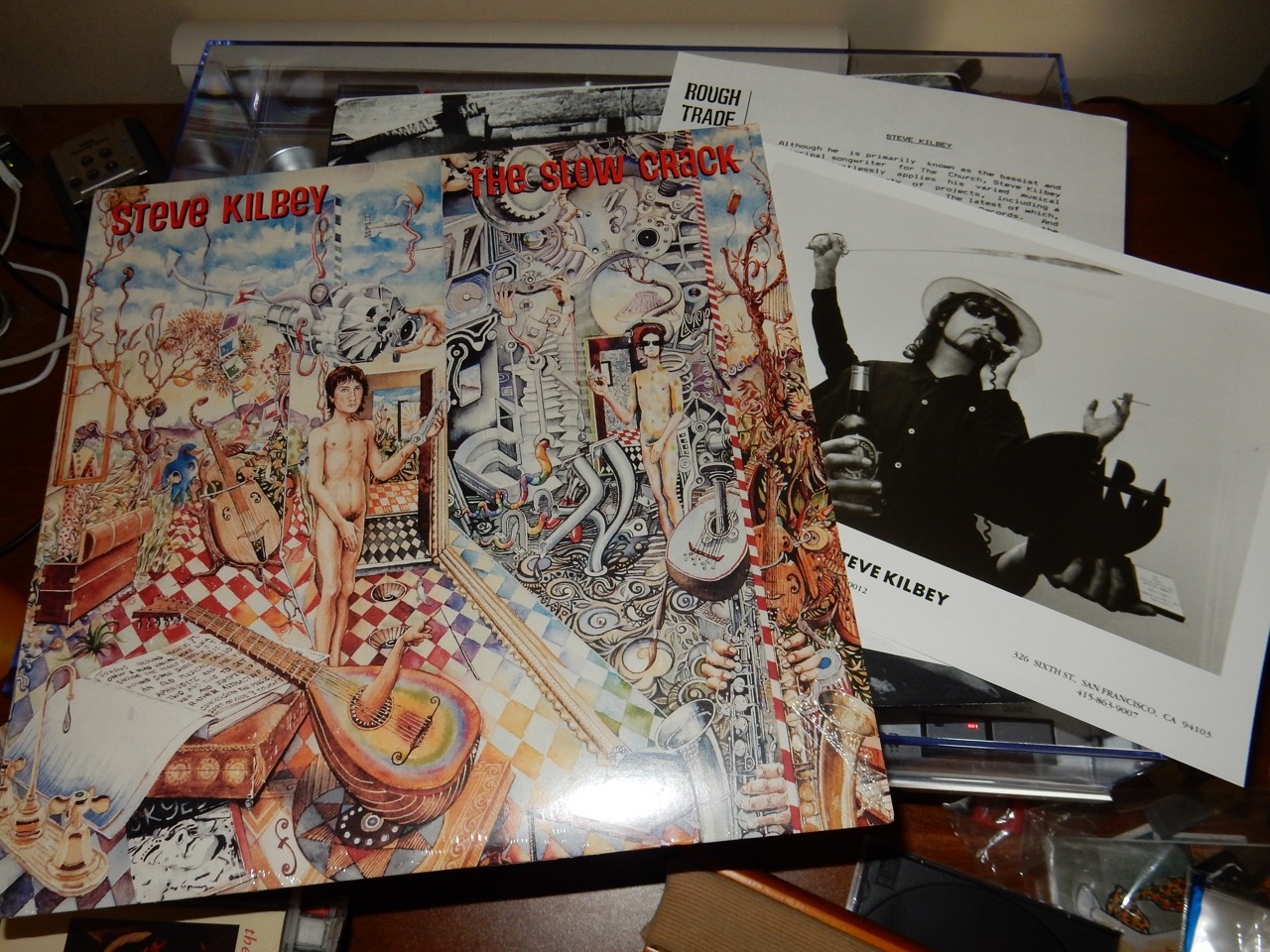 Steve Kilbey Vinyl