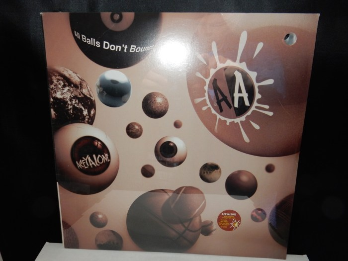 "Aceyalone ""All Balls Don't Bounce"" Vinyl 2xLP"