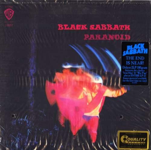 Black Sabbath - Paranoid - Deluxe Edition, Double 180 Gram Vinyl, 2XLP, Expanded, Rhino, 2016