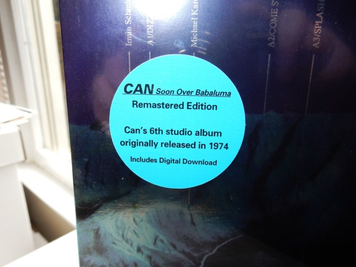 "Can ""Soon Over Babaluma"" Vinyl LP Reissue"