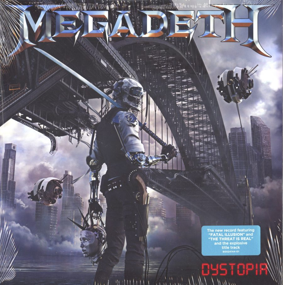 Megadeth - Distopia - Vinyl, LP, Heavy Metal, T-Boy Records / Ume, 2016