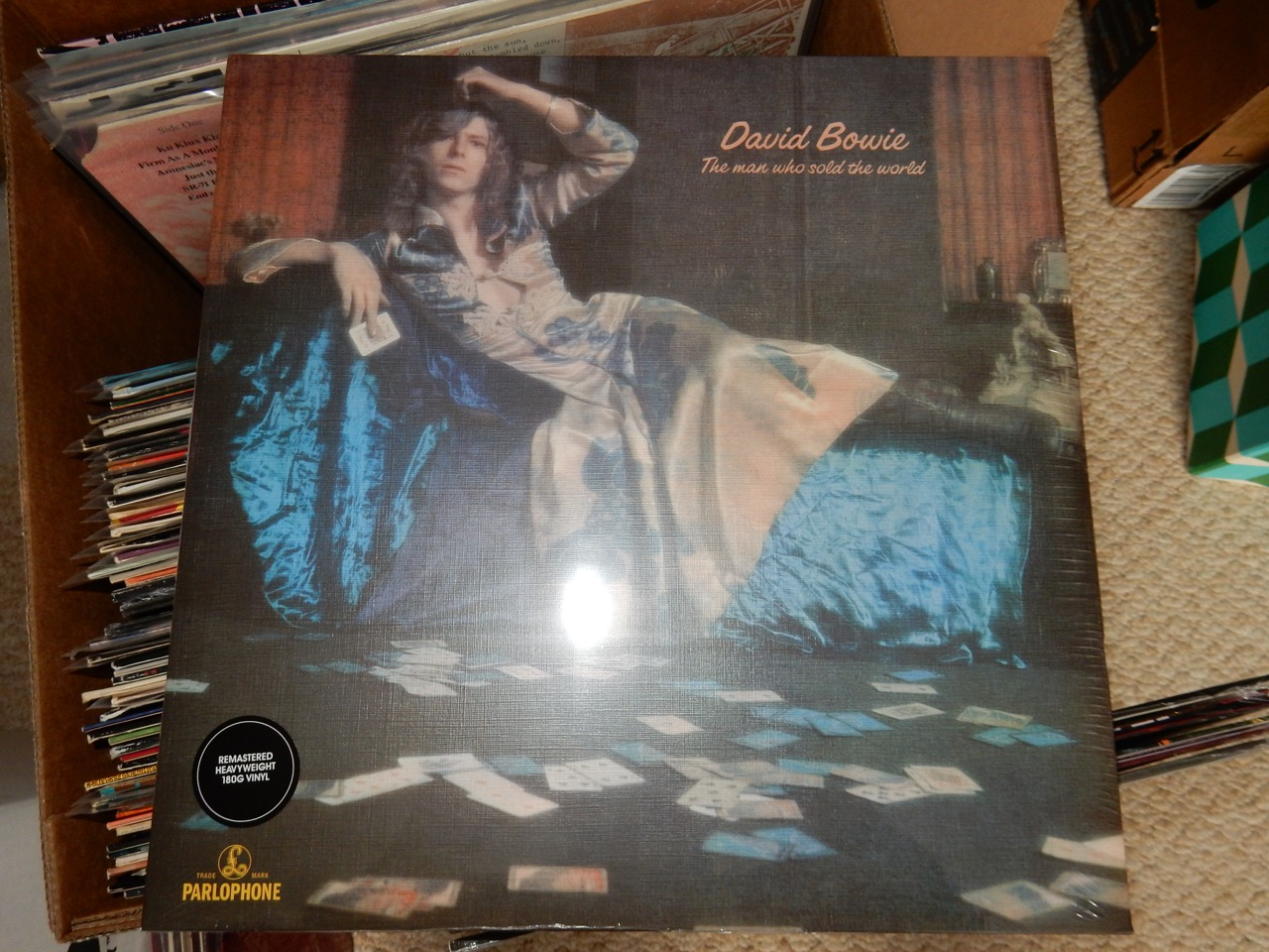 """David Bowie """"The Man Who Sold the World"""" 180 Gram Vinyl"""