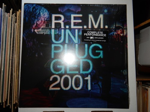 R.E.M. ‎– Unplugged 2001 2XLP Vinyl New Sealed Ltd Ed