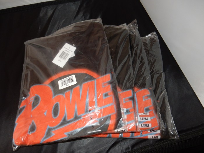 Bowie Shirts