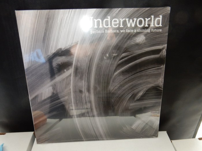 "Underworld ""Barbara Barbara We Face a Shining Future"" Vinyl LP"