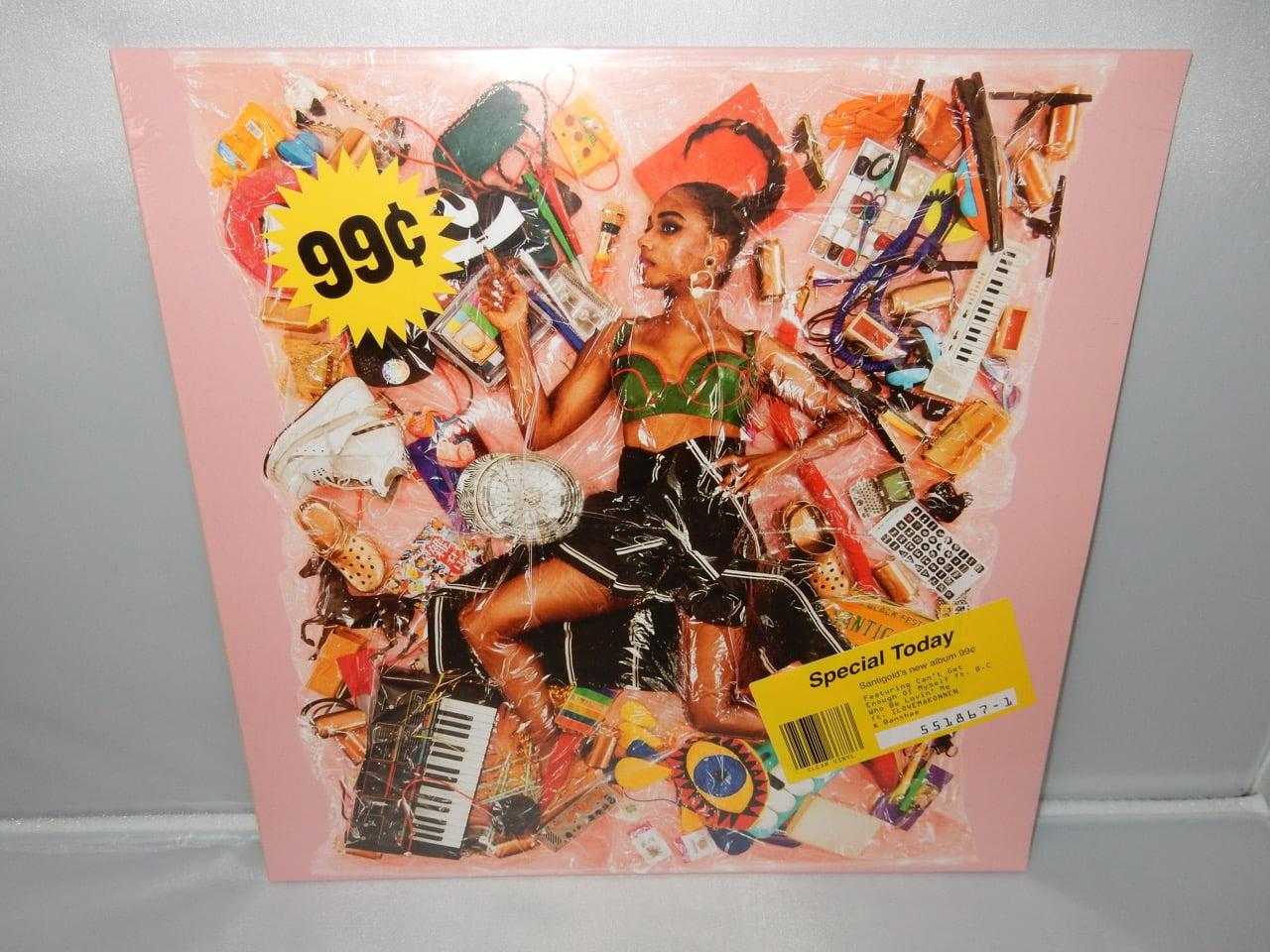 """Santigold """"99 Cents"""" Clear Colored Vinyl LP"""