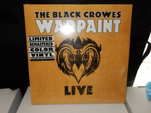 "The Black Crowes ""Warpaint Live"" 3XLP Yellow Colored Vinyl Reissue"