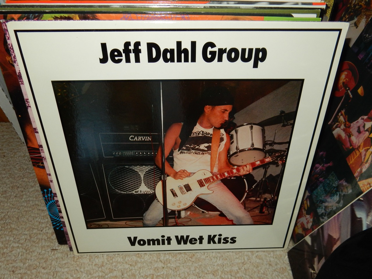 """Jeff Dahl Group """"Vomit Wet Kiss"""" 1988 Vinyl LP Sympathy For The Record Industry"""