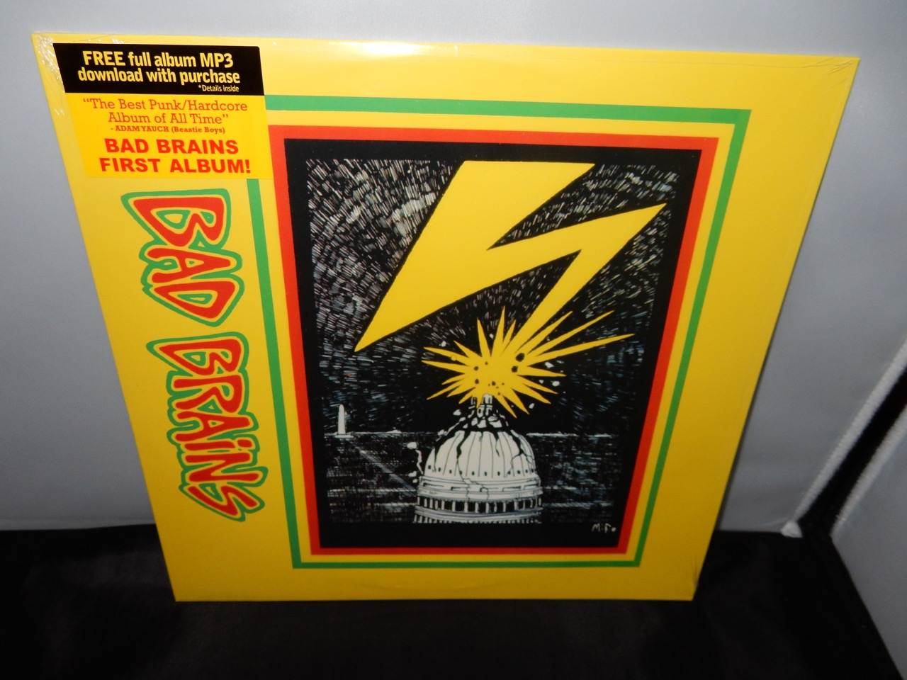 "Bad Brains ""Bad Brains"" 2005 Reissue of 1982 First Record VINYL LP"