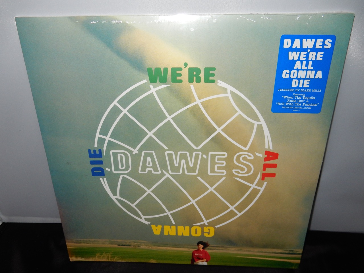 "Dawes ""We're All Gonna Die"" Limited Edition Colored Vinyl 2016"