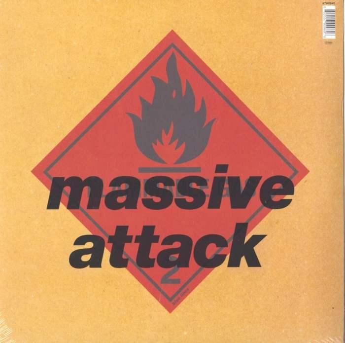 """Massive Attack """"Blue Lines"""" 180 Gram, Vinyl, Reissue, Virgin Records, 2016"""