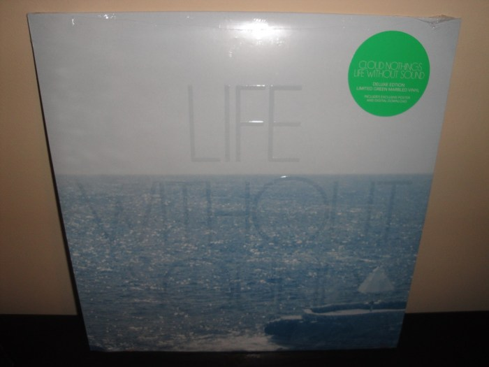 """Cloud Nothings """"Life Without Sound"""" Deluxe Edition Green Marble Vinyl LP"""