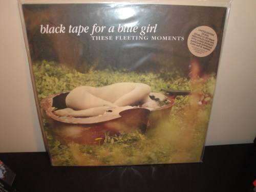 "Black Tape For A Blue Girl ""These Fleeting Moments"" Ltd Ed Colored Vinyl LP"
