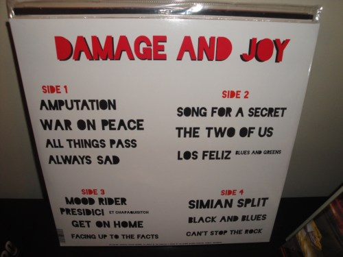 Jesus and Mary Chain - Damage And Joy - 2017 Vinyl LP