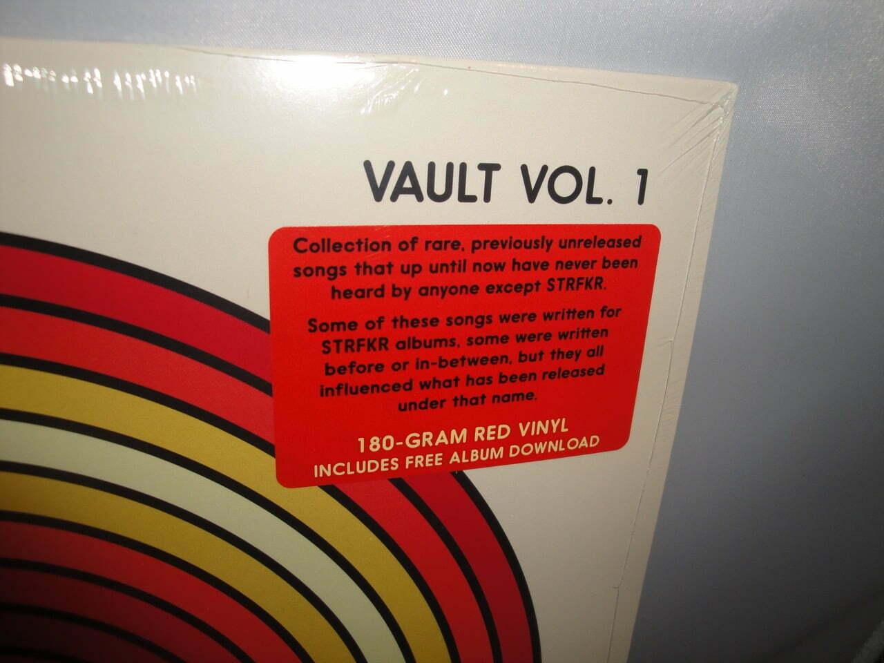 STRFKR - Vault Vol 1 - Limited 180gm Red Colored Vinyl LP 2017