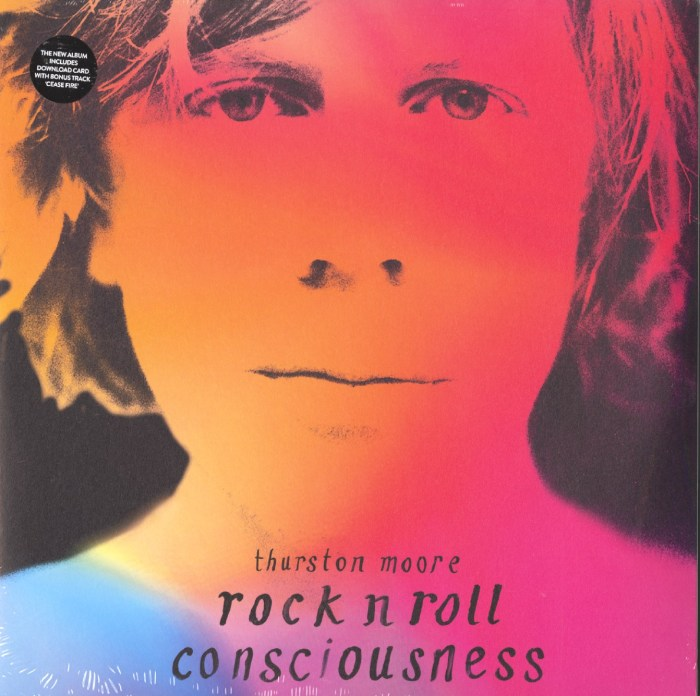 Thurston Moore - Rock N Roll Consciousness - Limited Edition, Etched, 2XLP, Vinyl, Caroline, 2017