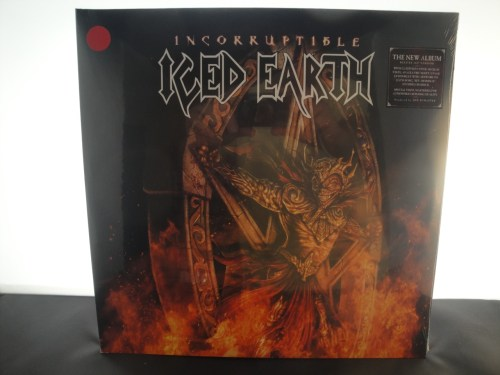 Iced Earth - Incorruptible - Ltd Ed 2XLP Red Vinyl w CD + Booklet