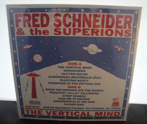 Fred Schneider & the Superions - The Vertical Mind - Vinyl, 2017
