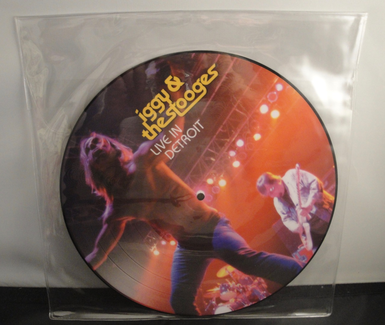 "Iggy & The Stooges - Live In Detroit 2003 - 11"" Picture Disc Vinyl LP"