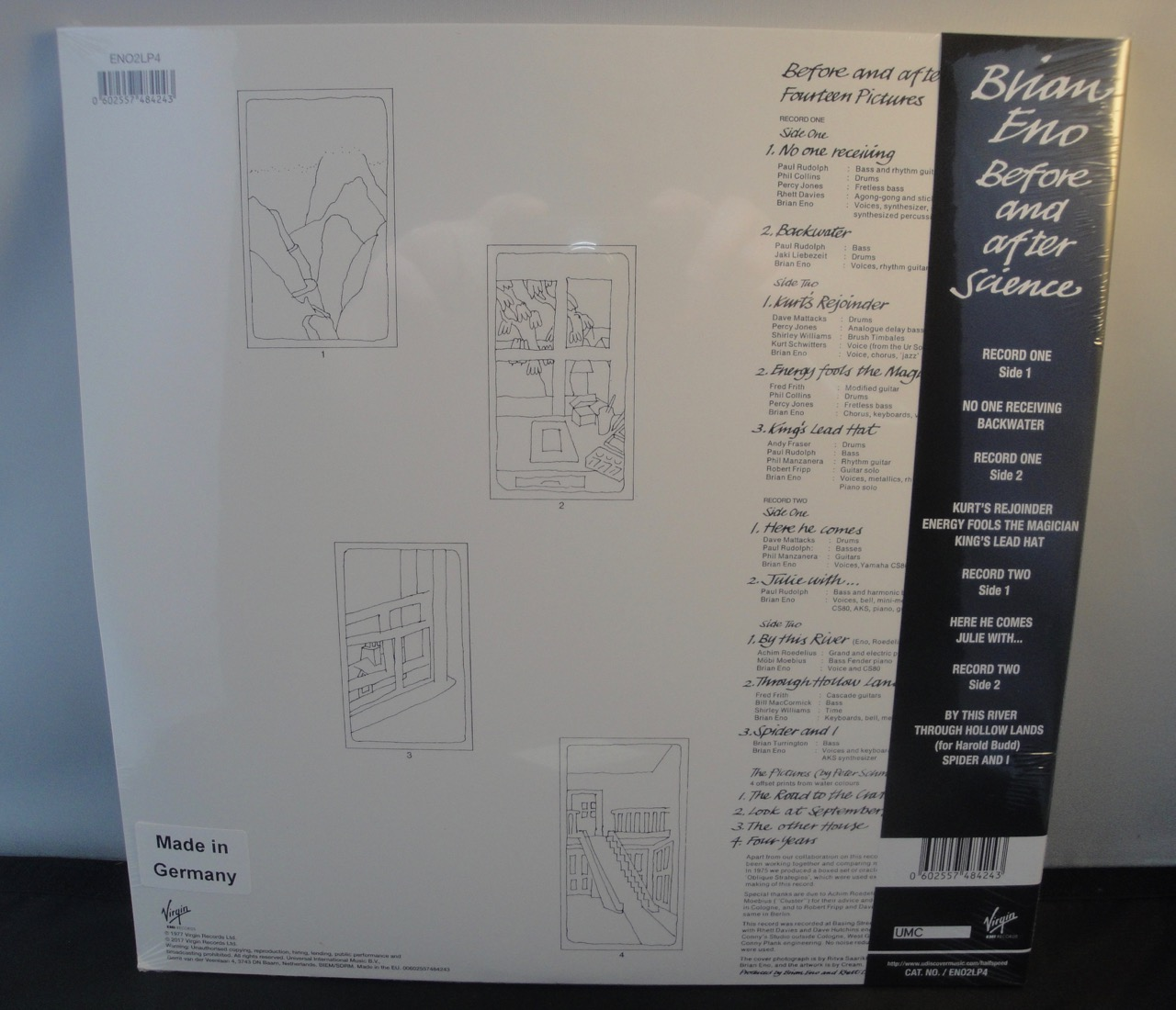 Brian Eno - Before and After Science - 2017, Ltd Ed 2XLP Reissue