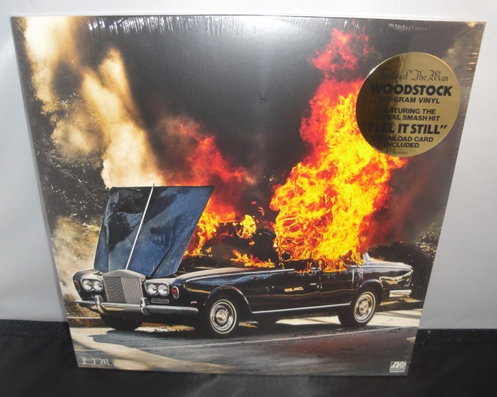 Portugal. The Man - Woodstock - 180 Gram Vinyl, Gatefold Jacket, 2017