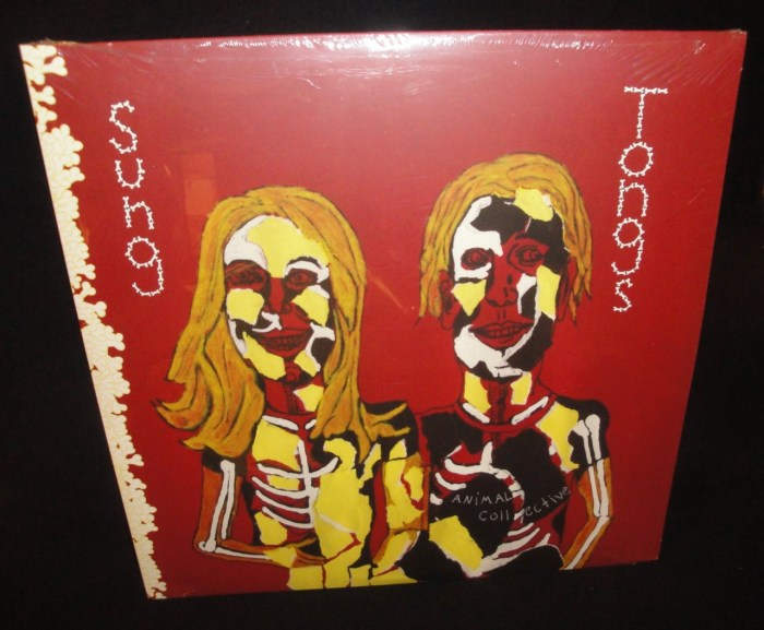 Animal Collective - Sung Tongs - 2017 Vinyl LP, My Animal Home, Reissue