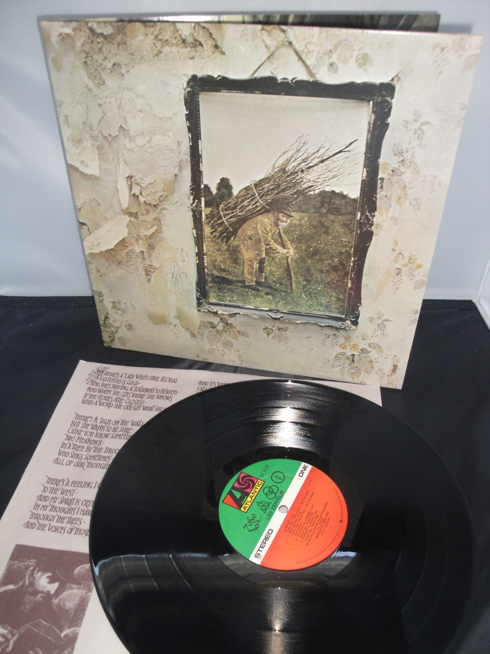 Led Zeppelin - Untitled - Atlantic, SD 19129 Vinyl LP, Reissue, Club Edition, CRC