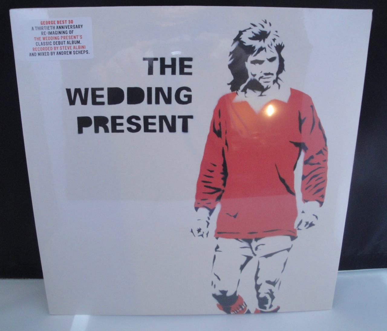 The Wedding Present - George Best 30 - 2017 Vinyl, LP with CD