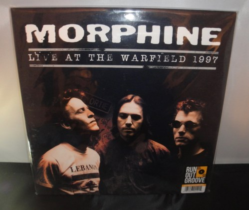 Morphine - Live At The Warfield 1997 - Ltd Ed, Numbered, 180 Gram, Double Vinyl, 2017