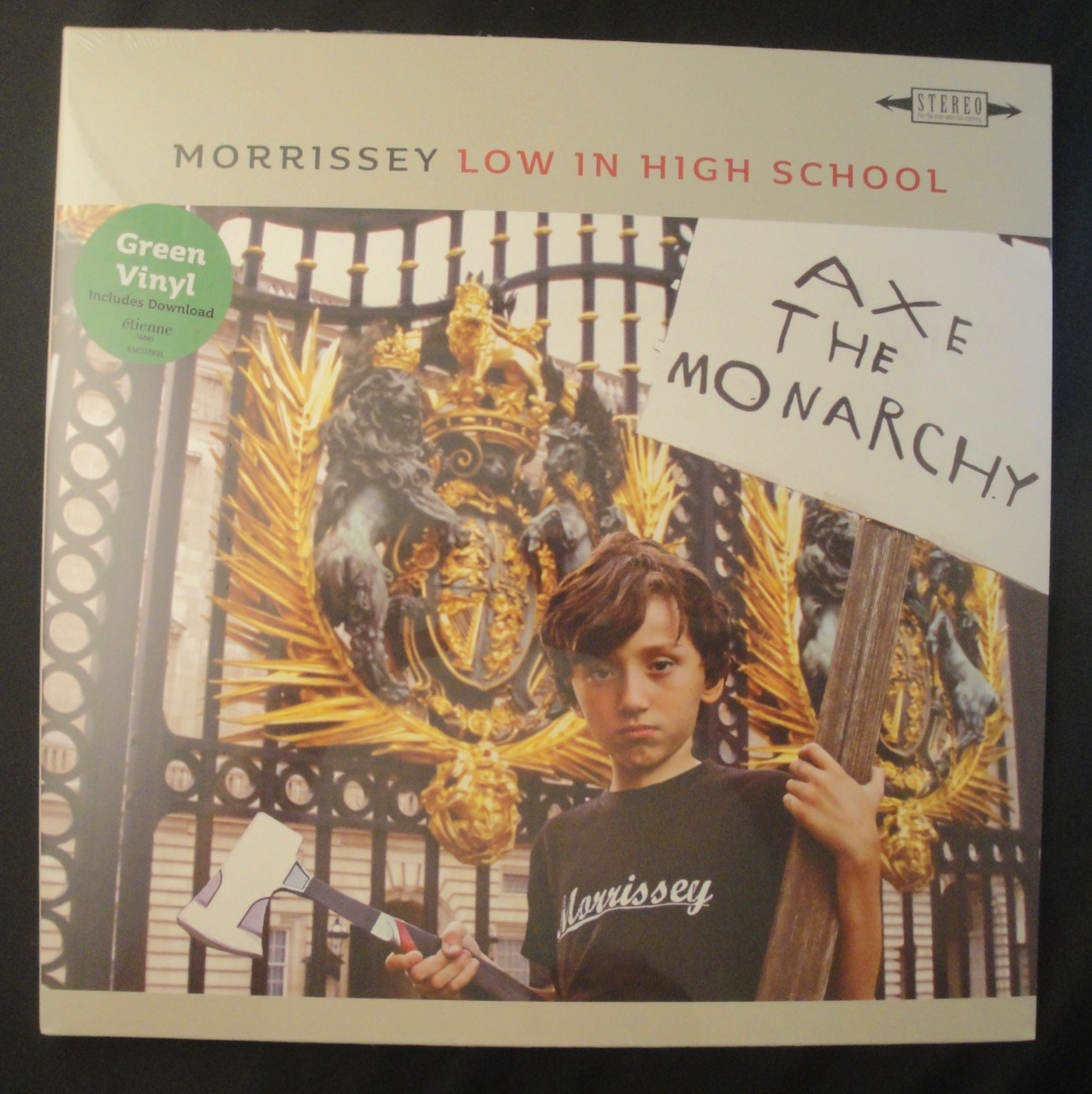 Morrissey - Low In High School - Limited Edition Green Colored Vinyl, LP, 2017