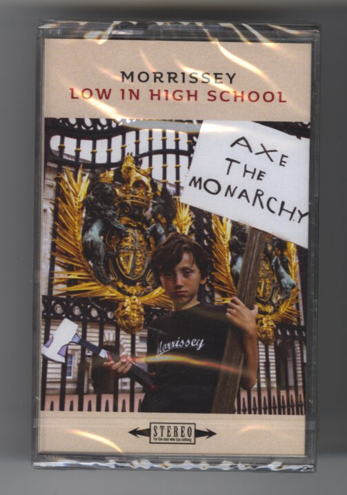 Morrissey - Low In High School - Cassette Tape, CS, New, Sealed, 2017