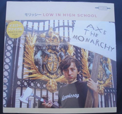 Morrissey – Low In High School – Yellow Colored Vinyl, LP, 2017 (Japanese)