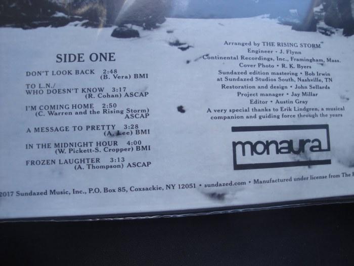 Rising Storm, The - Calm Before... - Sundazed Music, Vinyl, Gatefold, LP, Reissue