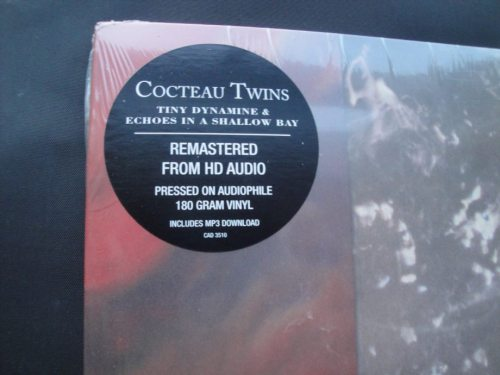 Cocteau Twins - Tiny Dynamine / Echoes in a Shallow Bay - Remastered, 180 Gram Vinyl, 2015