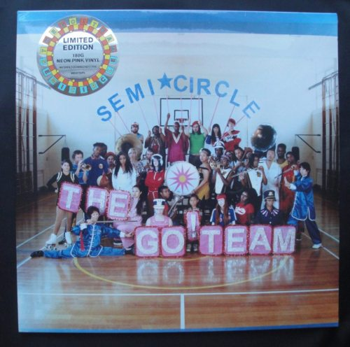 Go! Team - Semicircle - Ltd Ed, 180 Gram, Pink Vinyl, LP, Memphis Industries, 2018