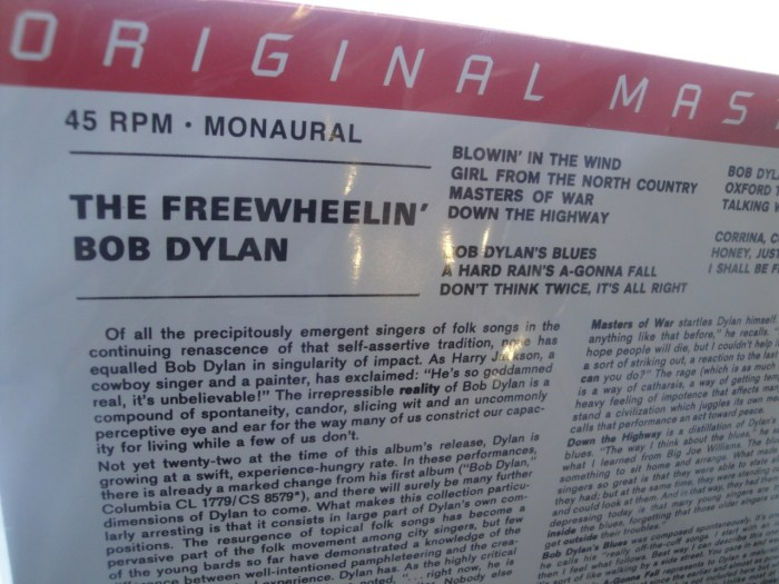 Mobile Fidelity - Bob Dylan