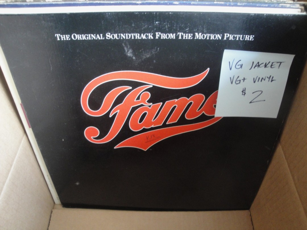 Fame Soundtrack Vinyl